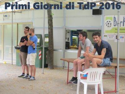 Primi Giorni di TdP 2016