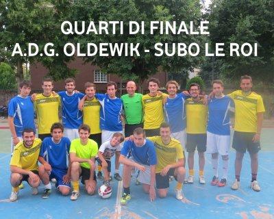 A.D.G. Oldewik-Subo Le Roi=4 - 3 dts