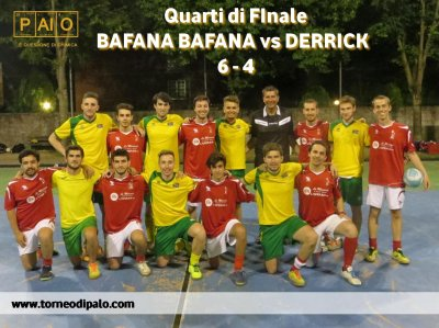 Bafana Bafana-Derrick=6 - 4