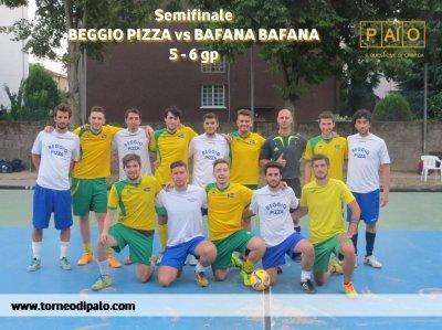 Beggio Pizza-Bafana Bafana=5 - 6 gp