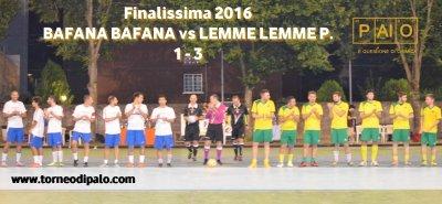 Bafana Bafana-Lemme Lemme P.=1 - 3