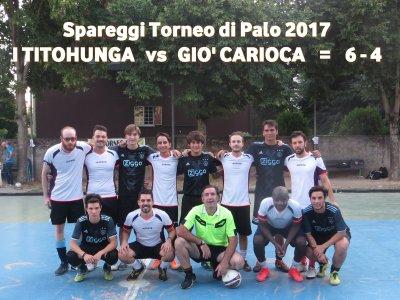 Tītohunga - Gio' Carioca =6 - 4