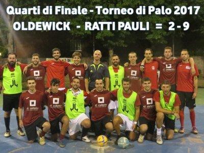 Oldewick    -   Ratti Pauli   = 2 - 9