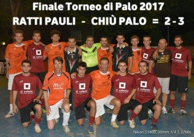 Ratti Pauli-Chiù Palo Per Tutti=2 - 3