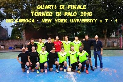 Gio Carioca - New York Uni Versi Ty  =7 - 1