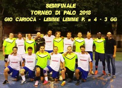 Gio Carioca -Lemme Lemme P. =4 - 3 gg