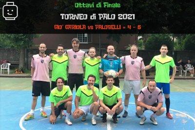 Gio' Cariola-Palobelli=4 - 5