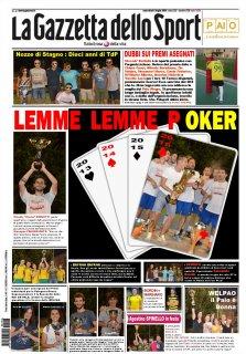 Torneo di Palo 2016: edizione numero 23 in archivio