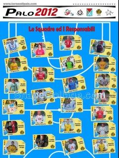 Squadre e Responsabili 2012